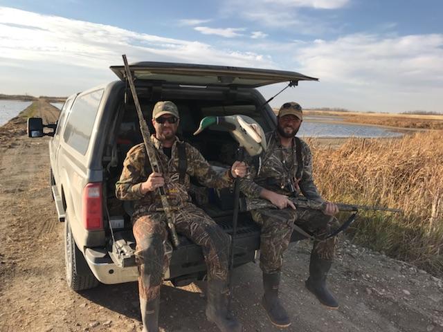 Flooded timber hunt