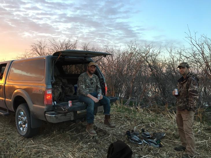 Last Hunt Sunset