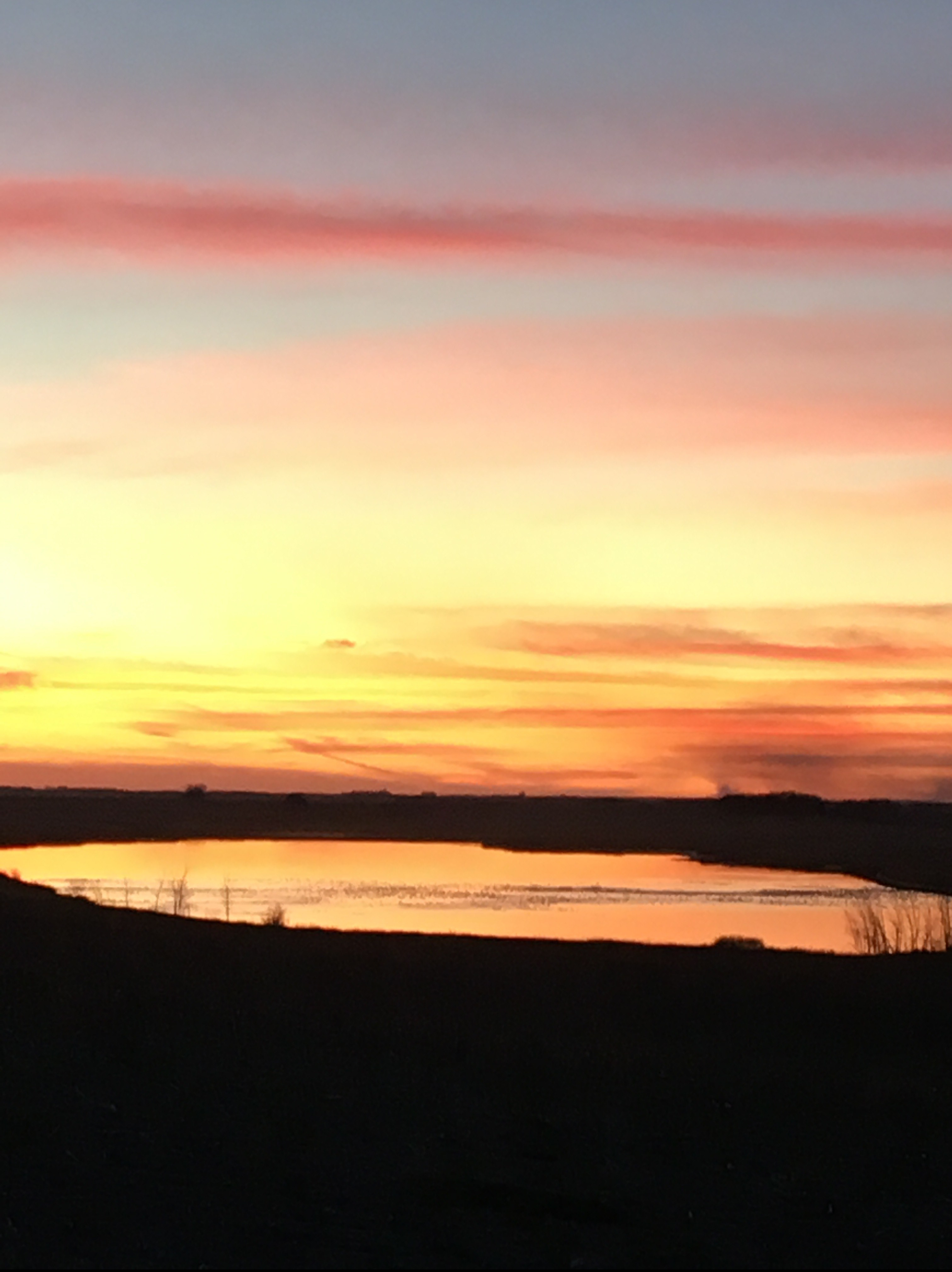 Sunset over hill2